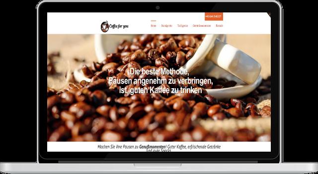 Webdesign Firmenwebseite