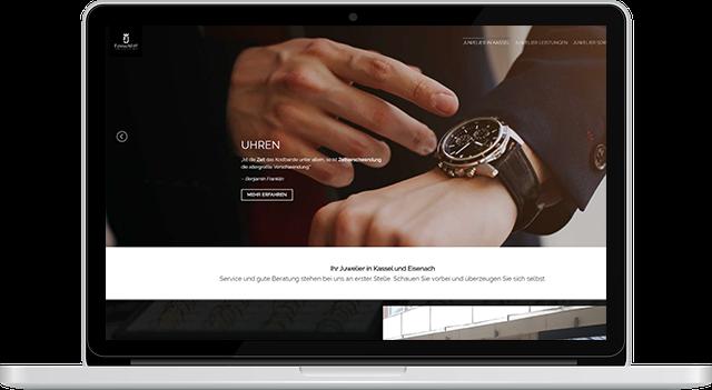 Webdesign Juwelier